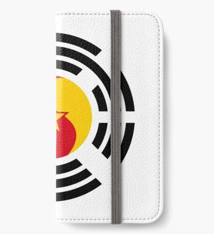 Korean Cameroonian Multinational Patriot Flag Series iPhone Wallet