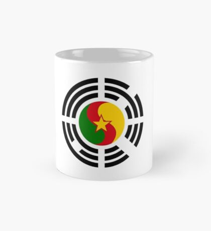 Korean Cameroonian Multinational Patriot Flag Series Mug