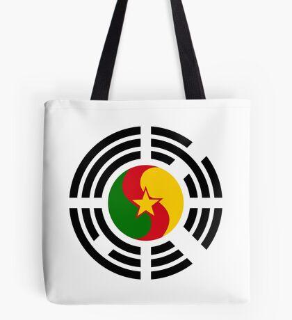 Korean Cameroonian Multinational Patriot Flag Series Tote Bag