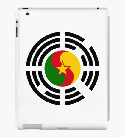 Korean Cameroonian Multinational Patriot Flag Series iPad Case/Skin