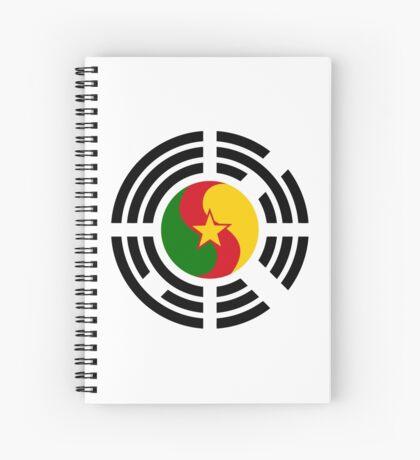 Korean Cameroonian Multinational Patriot Flag Series Spiral Notebook