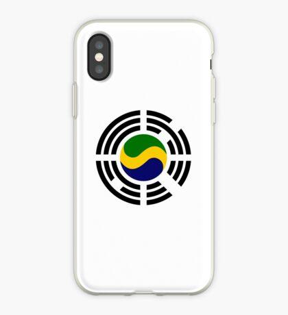 Korean Gabonese Multinational Patriot Flag Series iPhone Case