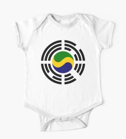 Korean Gabonese Multinational Patriot Flag Series Kids Clothes