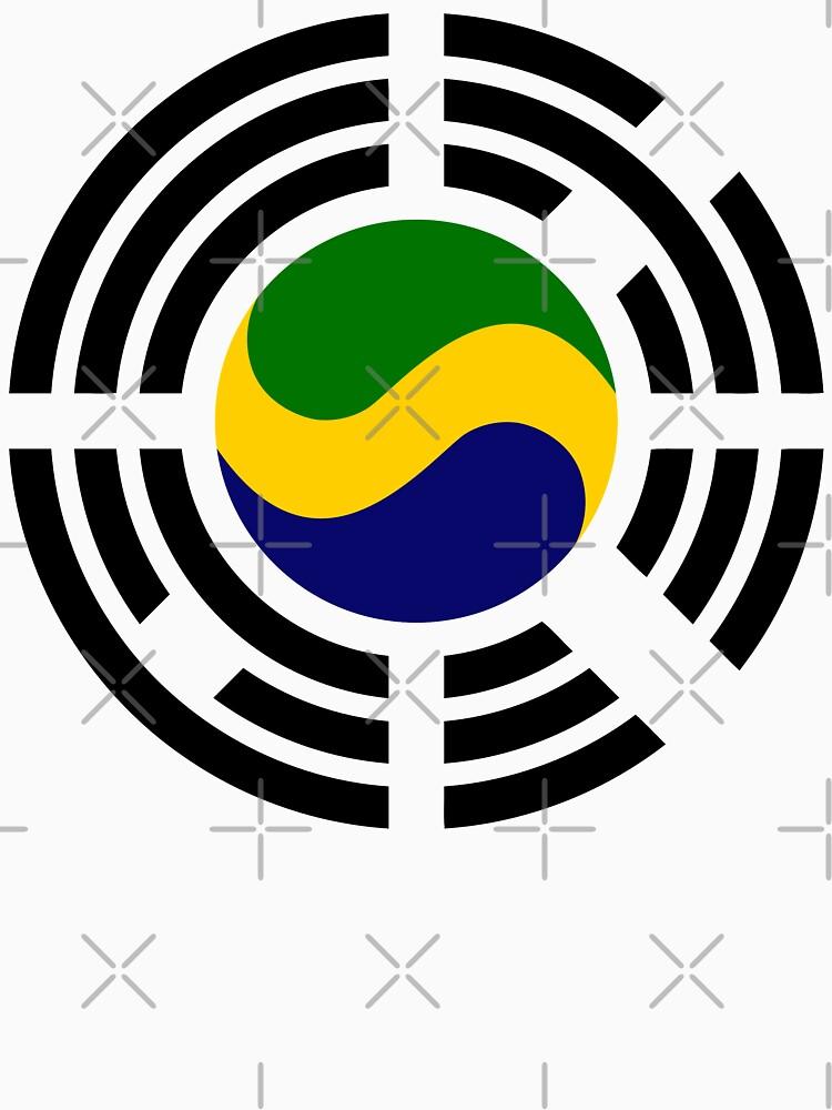 Korean Gabonese Multinational Patriot Flag Series by carbonfibreme