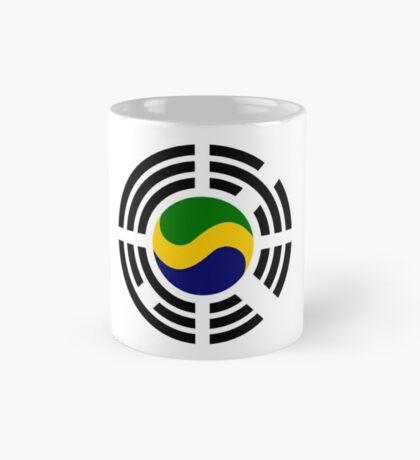 Korean Gabonese Multinational Patriot Flag Series Mug