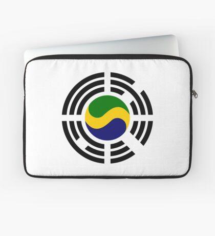 Korean Gabonese Multinational Patriot Flag Series Laptop Sleeve