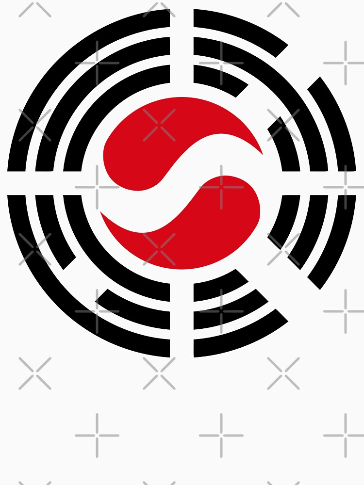 Korean Austrian Multinational Patriot Flag Series by carbonfibreme
