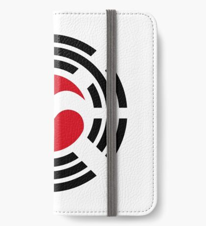Korean Austrian Multinational Patriot Flag Series iPhone Wallet