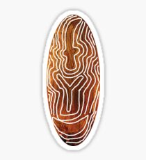 It s about time you wore something different for a change / African Print with a twist Sticker
