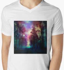 Magical Forest Men's V-Neck T-Shirt