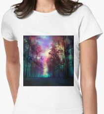 Magical Forest Women's Fitted T-Shirt