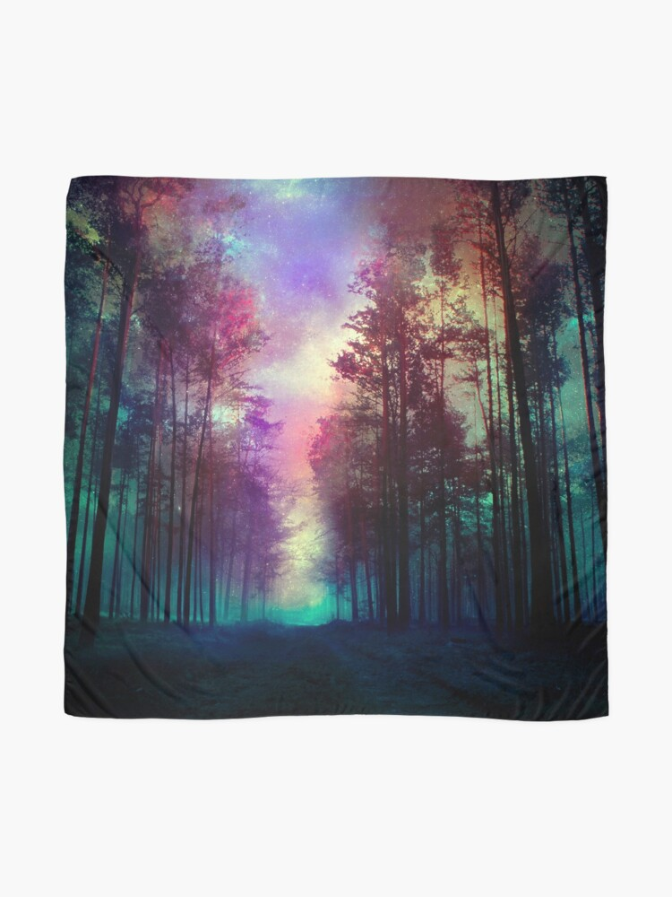 Alternate view of Magical Forest Scarf