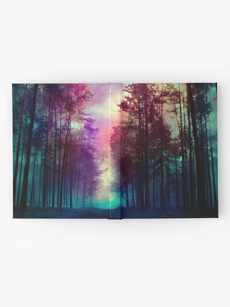 Alternate view of Magical Forest Hardcover Journal