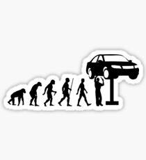 Mechanical Evolution Sticker