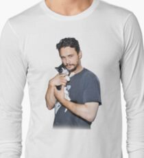Camiseta de manga larga El gato de James Franco
