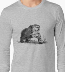 Camiseta de manga larga Owlbear Medieval