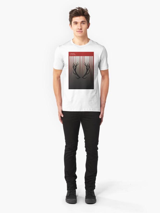 Alternate view of Hannibal Minimalist Slim Fit T-Shirt