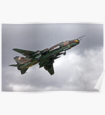 Sukhoi Su-22M-4 Fitter-K Red 9616 Poster