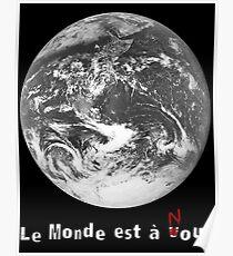 Le Monde de La Haine Poster