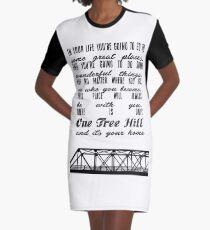 Es gibt nur einen Baum Hügel T-Shirt Kleid