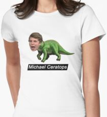 Michael Ceratops Womens Fitted T-Shirt