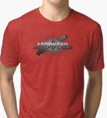 monster dubstep Tri-blend T-Shirt