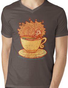 Tea Team Mens V-Neck T-Shirt