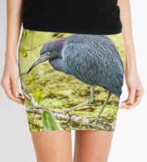 Little Blue Heron at Ollie's Pond Mini Skirt