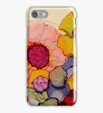 """In Full Bloom"" - Colorful Unique Original Artist's Floral Design! iPhone Case/Skin"