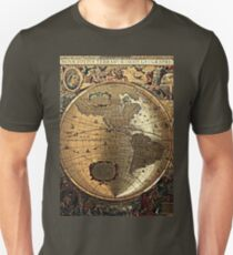 Old Map Unisex T-Shirt
