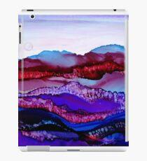 """Blue Mountain Dream"" - Colorful Unique Original Artist's Landscape! iPad Case/Skin"