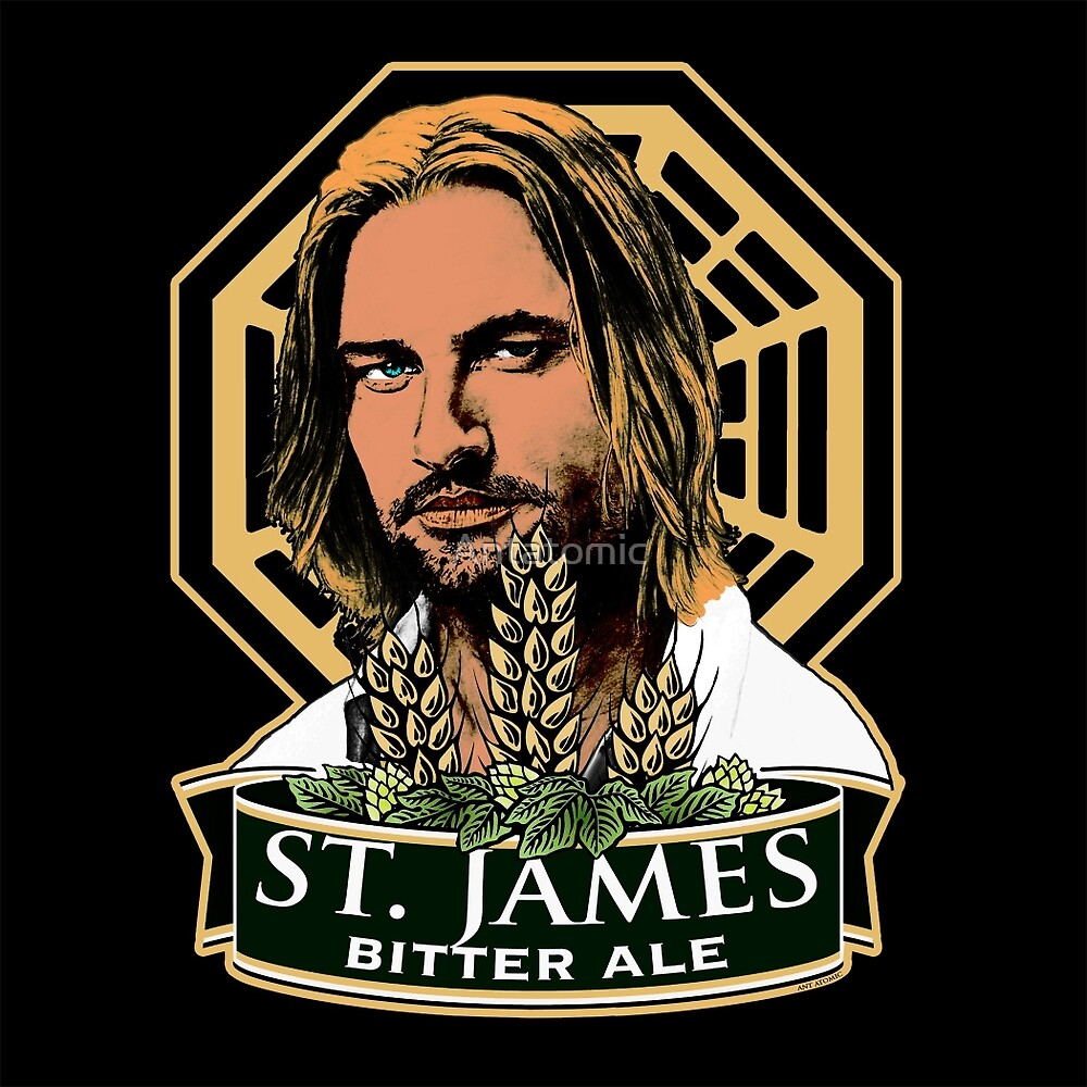 St. James Bitter Ale by Antatomic