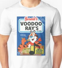 VOODOO RAY'S CEREAL BOX Unisex T-Shirt