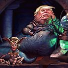 Jabba the Trump by DylanVermeul