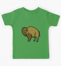 Bison Kids Tee