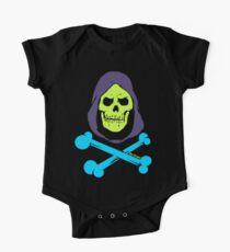 Skeletors Knochen Baby Body Kurzarm