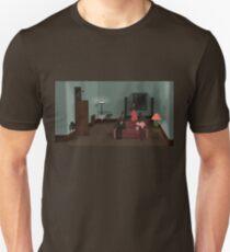 Bunnies - Who's at the Door? Unisex T-Shirt