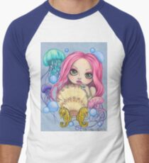 Amora, the Jellyfish Whisperer Men's Baseball ¾ T-Shirt