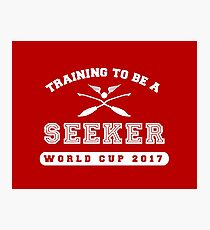 Training to be a Seeker Photographic Print