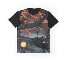 Flat Tire In Oblivion Graphic T-Shirt