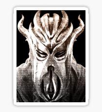 Miraak's Mantra Sticker