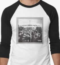 To Pimp a Butterfly Men's Baseball ¾ T-Shirt
