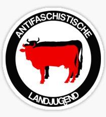 Anti-fascist rural youth Sticker