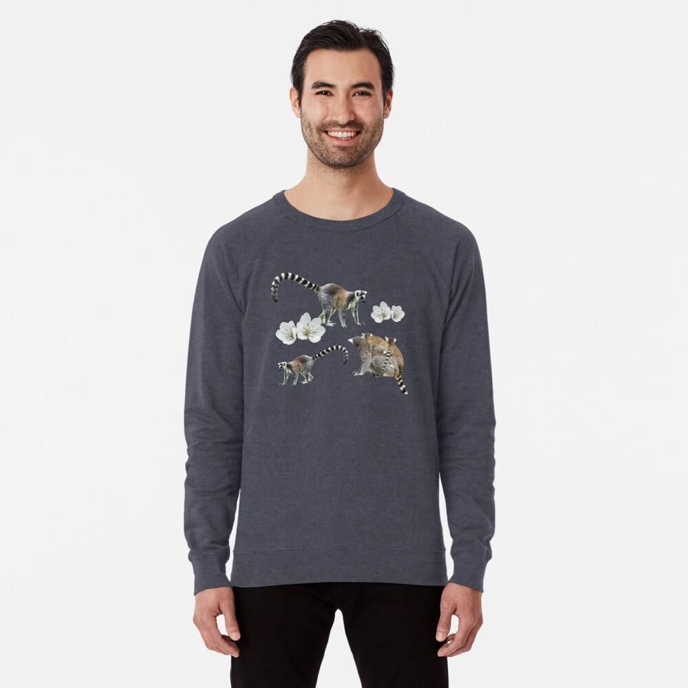Lemur love Lightweight Sweatshirt