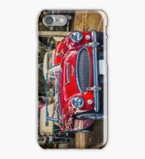 Red Austin Healey 3000 MkIII iPhone Case/Skin