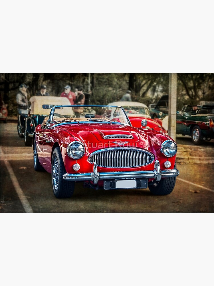 Red Austin Healey 3000 MkIII by StuartRow
