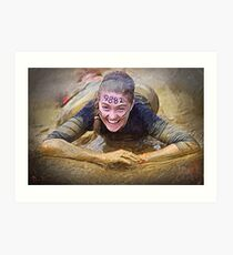 Tough Mudder Art Print