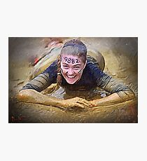 Tough Mudder Photographic Print