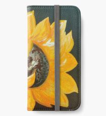 Sunflower Solo iPhone Wallet