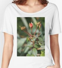 Rose Buds Women's Relaxed Fit T-Shirt